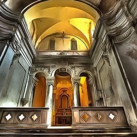 The Yellow Light Church 1p - La Chiesa Della Luce Gialla 1p by Enrico Pelos