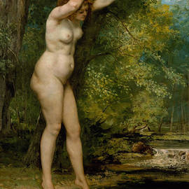 Gustave Courbet - The Young Bather, 1866