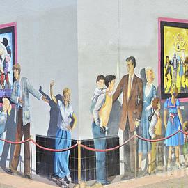 Theater Mural by Debby Pueschel