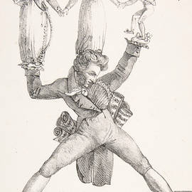Theatre Italien - Eugene Delacroix