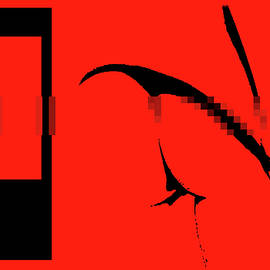 Sir Josef - Social Critic -  Maha Art - This Is A Journey Into Red