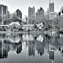 This is THE Atlanta Grayscale You Want by Frozen in Time Fine Art Photography