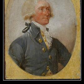 Aurelio Zucco - Thomas Jefferson Portrait with Free Press Quotation