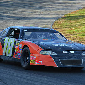 Mike Martin - Thompson Speedway Action