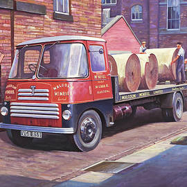 Thornycroft 7 tonner. - Mike Jeffries