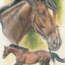 Thoroughbred by Barbara Keith