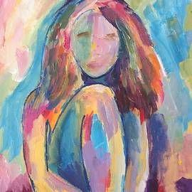 Thoughtful Girl by Carol Stanley