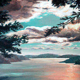 Thousand Island Sunset by Hanne Lore Koehler