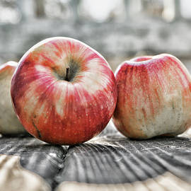 Three Apples by Sharon Popek