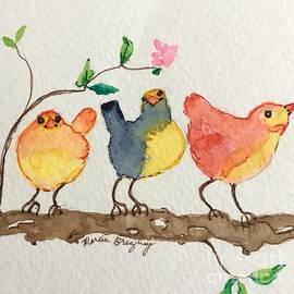 Three Birds  by Marcia Breznay