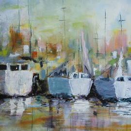 Dorothy Banker - Three Boats