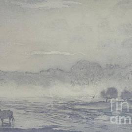 Three buffalo - Angus Hampel