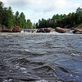 Debbie Oppermann - Three Chutes Flowing Sturgeon Chutes