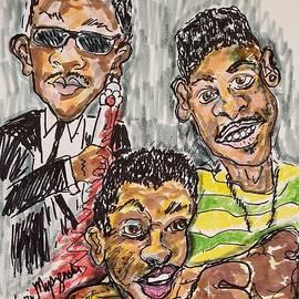 Three Faces of Will Smith by Geraldine Myszenski