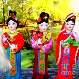 Three Geisha Girls #2