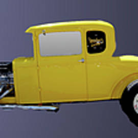 Three Hotrods by Michael Riley