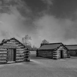 Jeff Oates Photography - Three Huts in Snow