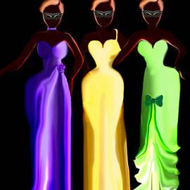 Landrell Scurlock - Three Ladies