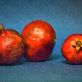 Three Pomegranates by Frank Wilson