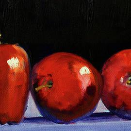 Three Reds by Nancy Merkle