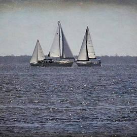 Rosalie Scanlon - Three Sails in Grunge