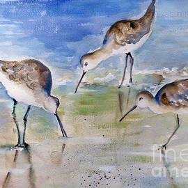 Mafalda Cento - Three Sandpipers