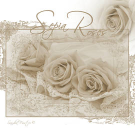 Sandra Foster - Three Sepia Roses