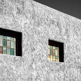 Three Windows In Taos #3 by Stuart Litoff