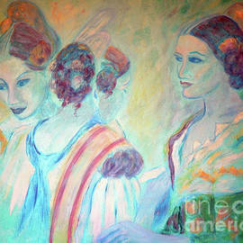 Jane Gatward - Three Young Girls