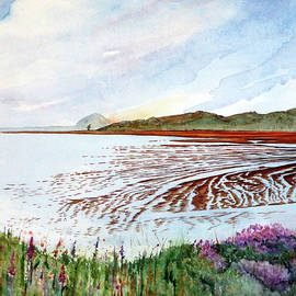 Janice Sobien - Thumbprint on the Bay - Low Tide at Morro Bay