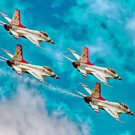 Bill Gallagher - Thunderbirds In Formation II