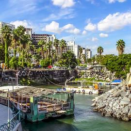 Tiberias Harbor at Sea of Galilee by Brian Tada