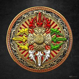 Tibetan Double Dorje Mandala