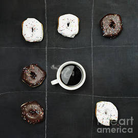 Stephanie Frey - Tic Tac Toe Donuts and Coffee