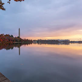 Tidal Basin In Fall 3 by Michael Donahue