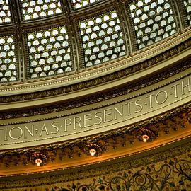 Roger Passman - Tiffany Dome Chicago Cultural Center