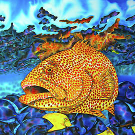Daniel Jean-Baptiste - Tiger Grouper and Tang Fish