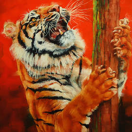 Margaret Stockdale - Tiger Tiger Burning Bright