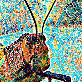 Tiled Grasshopper by Alice Gipson