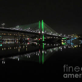 Tilikum Crossing Portland Or by Cindy Murphy - NightVisions