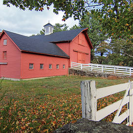 Tillinghast Farm Fall by Jim Beckwith