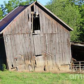 Tilted Barn Indiana by Steve Gass