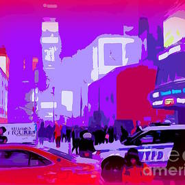 Ed Weidman - Times Square Scene