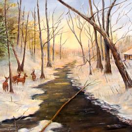Loretta Luglio - Tinicum Creek Winter