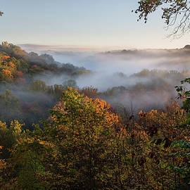 Tinkers Creek Gorge Overlook by Dale Kincaid