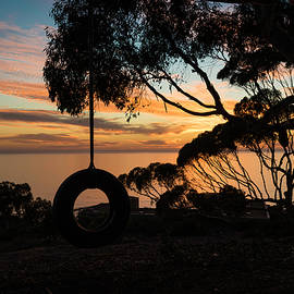 Scott Cunningham - Tire Swing Sunset