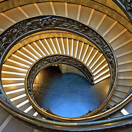 To Infinity Vatican Staircase by Jill Love Photo Art