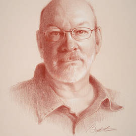 Todd Baxter - Todd, self portrait