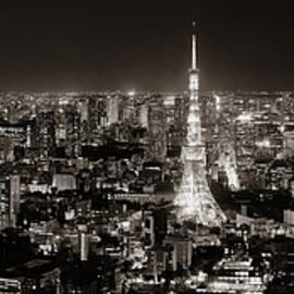 Tokyo Skyline by Songquan Deng