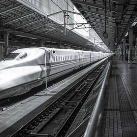 Perry Rodriguez - Tokyo to Kyoto, Bullet Train, Japan